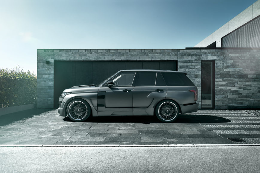 hamann <Br> range rover widebody