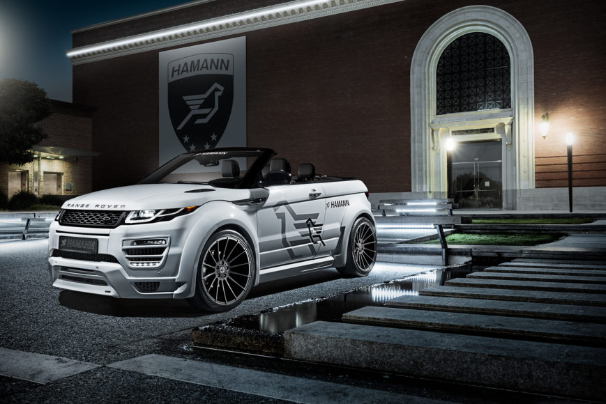 hamann <br/> range rover evoque widebody